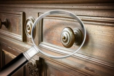 Furniture Polish, Closeup of Furniture