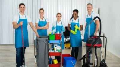 Independent Contractor or Employee cleaning empire