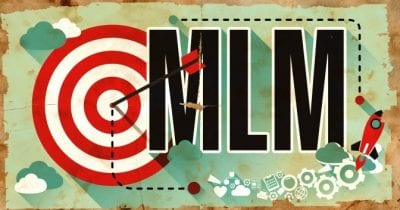MLM's and House Cleaners, Target Audience on Multi Level Marketing Graphic
