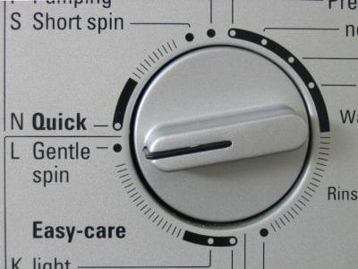 Microfiber Cloths, Gentle Spin on Washing Machine