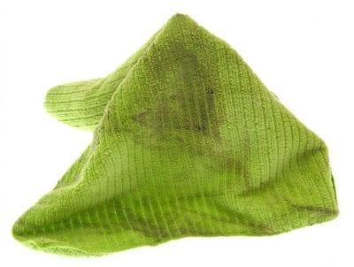 Microfiber Cloths, Green Cloth