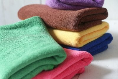 Microfiber Cloths, Multi Colors