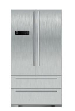 Pumice Stones, Stainless Steel Refrigerator