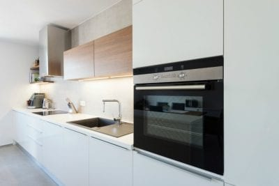 Pumice Stones, White Modern Kitchen