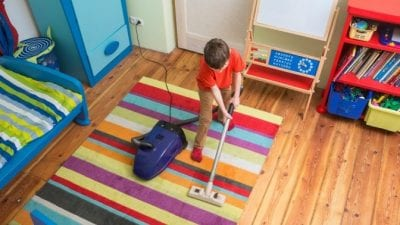 Teach Kids to Clean cleaning