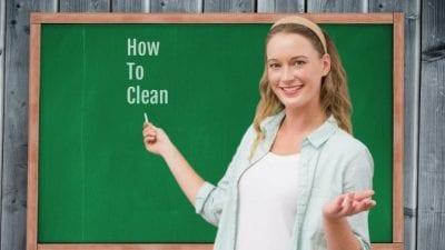 Teach Kids to Clean data