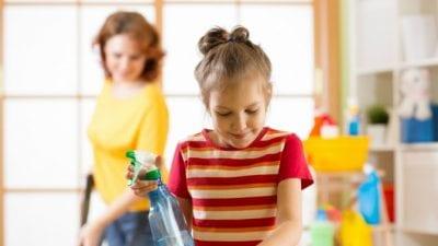 Teach Kids to Clean teaching
