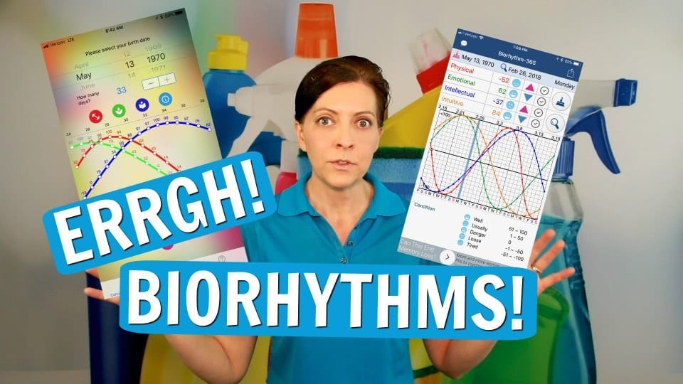 Ask a House Cleaner, Biorhythms, Savvy Cleaner