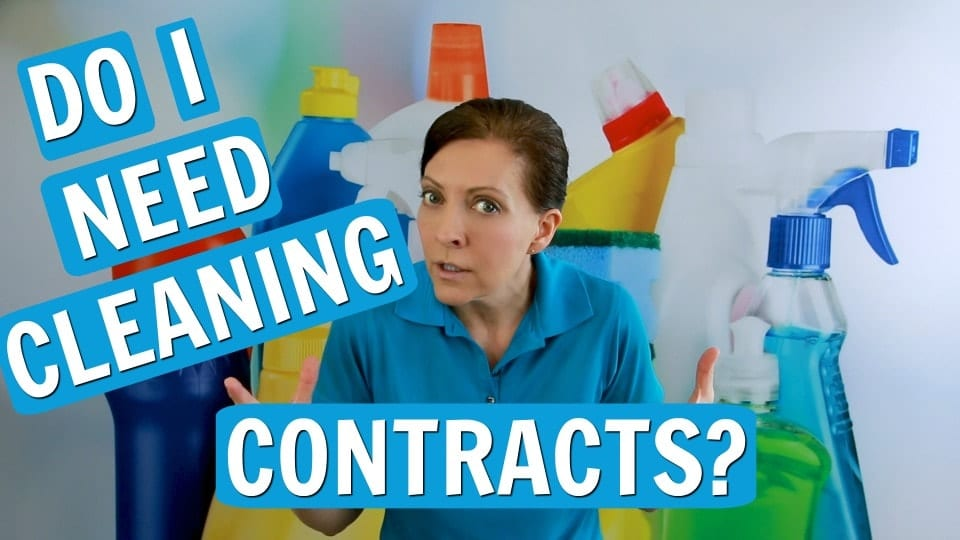 Ask a House Cleaner, Cleaning Contract, Letter of Agreement, Savvy Cleaner