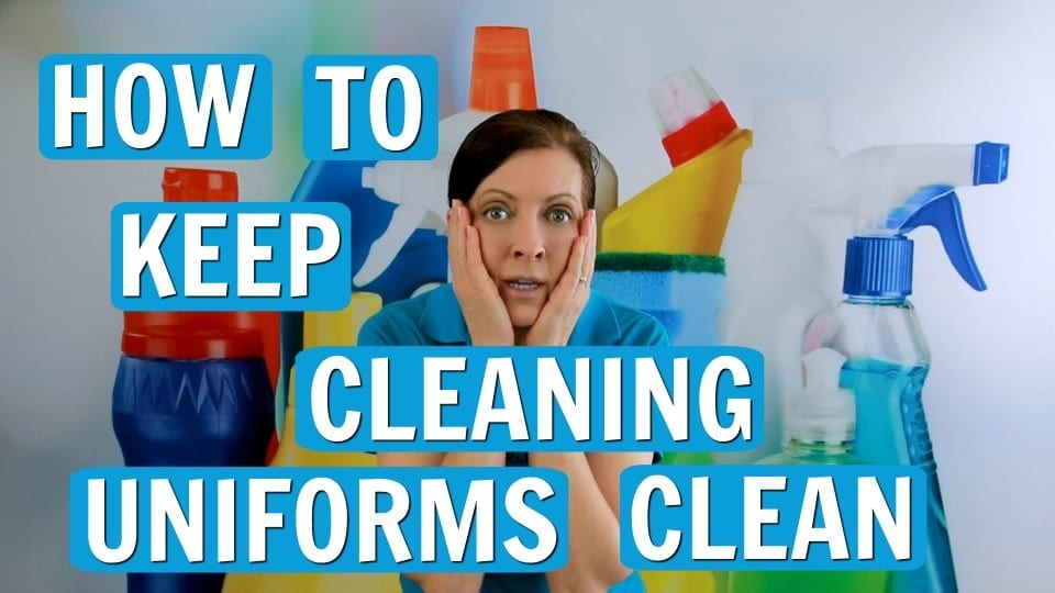 Ask a House Cleaner, Keep Uniforms Looking Nice, Savvy Cleaner