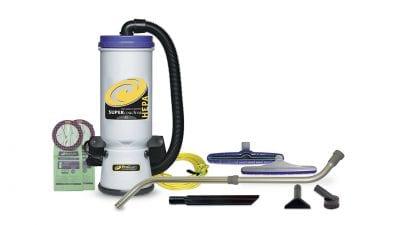 Backpack Vacuums, Blue Black White Backpack Vacuum