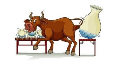 Backpack Vacuums, Bull in a China Shop Cartoon