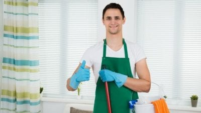 Buy a Cleaning Business new cleaner