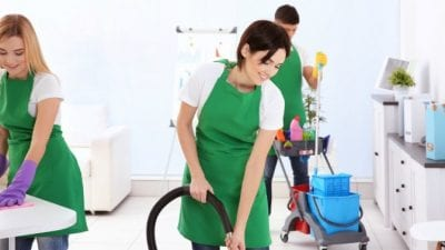 Buy a Cleaning Business trained employees