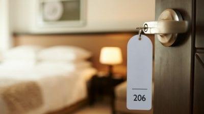 Employee Perks hotel room