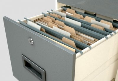 Employee Records, Filing Cabinet