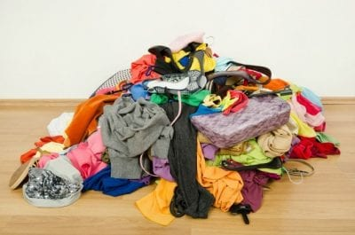 Extra Charge for Extra People, Laundry Pile