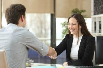 Hardest Job, Hardest Money Couple shakes hands