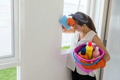 Hardest Job, Hardest Money, House Cleaning Girl is discouraged