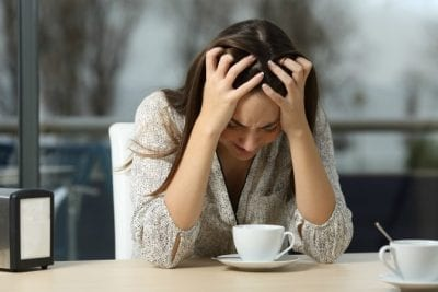 Hardest Job, Hardest Money, Woman is depressed