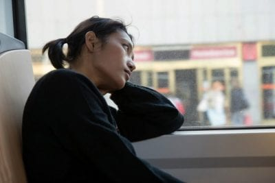 Hardest Money, Woman on Bus