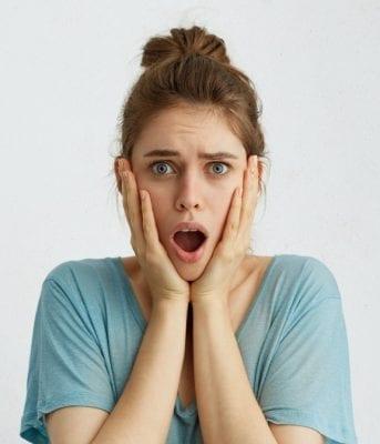 Hoarding Girl is shocked