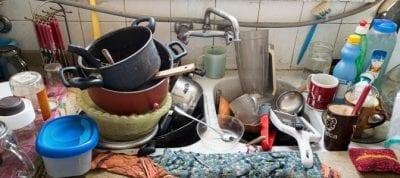 Hoarding Messy Kitchen