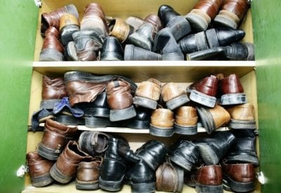 Hoarding Shoes