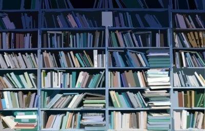 Hoarding hundreds of books
