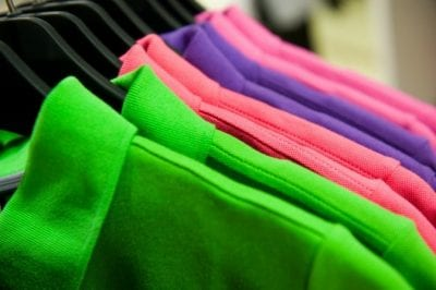 Keeping Uniforms Looking Nice, Bright Colored Shirts