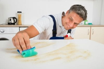 One-Offs, Smiling Man Wipe Dirty Counter
