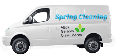 Spring Cleaning Drop and Drag Van