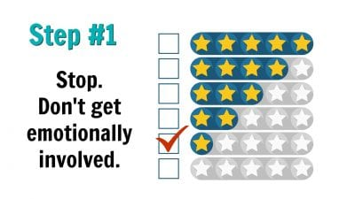 1-Star Review Step 1