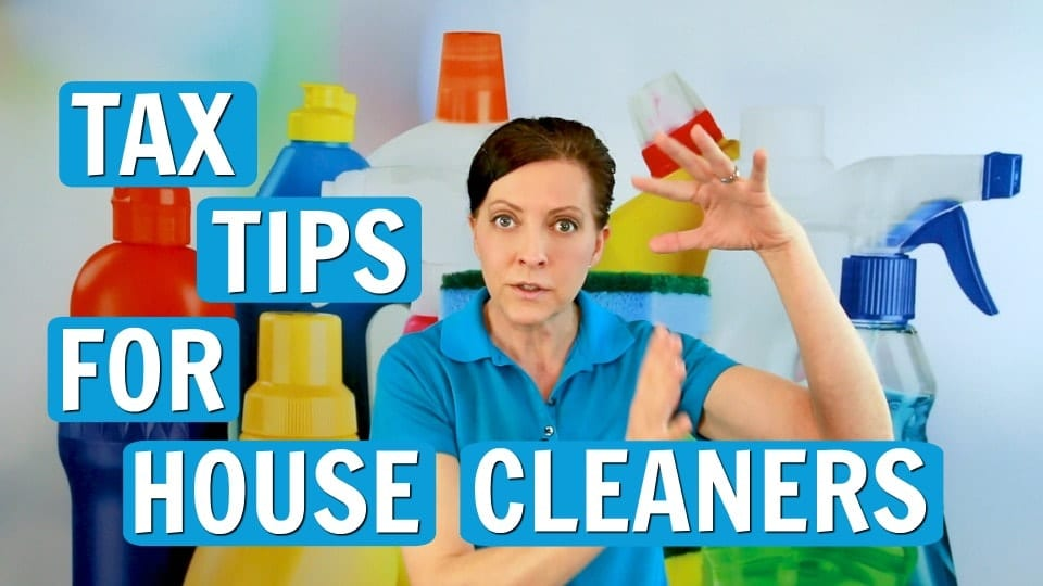 Ask a House Cleaner, Tax Tips, Savvy Cleaner