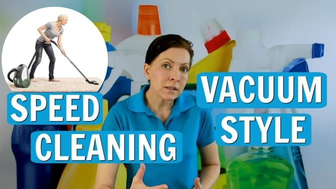 Ask a House Cleaner, Speed Cleaning Vacuum Style, Savvy Cleaner