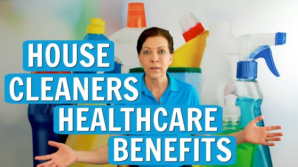 Ask a House Cleaner, Healthcare Benefits, Savvy Cleaner