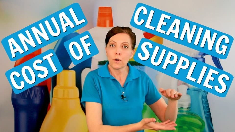 Ask a House Cleaner, Annual Cost for Cleaning Supplies, Savvy Cleaner