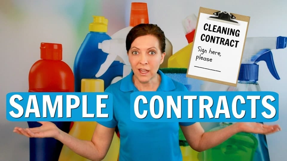 Ask a House Cleaner, Sample Contract, Savvy Cleaner