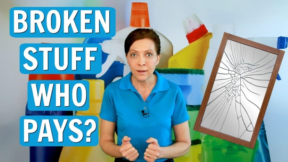 Ask a House Cleaner, Who Pays When Stuff Breaks, Savvy Cleaner