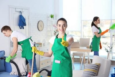 Annual Cost of Cleaning Supplies, Cleaning Team