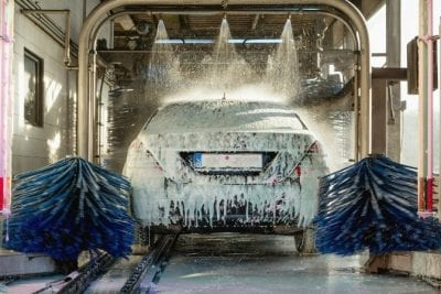 Get a Teenager to Clean Up, Car Wash