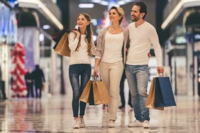 Get a Teenager to Clean Up, Family Shopping at Mall