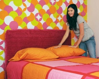 Get a Teenager to Clean Up, Girl Making Bed