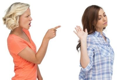 Incompatible coworkers, Women Disagreeing