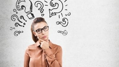 Religious Stereotypes Woman has lots of questions