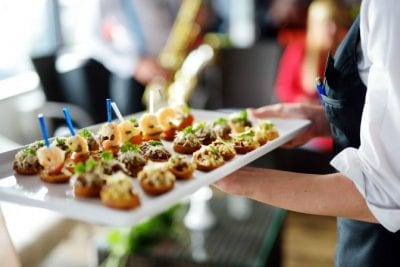 Upsell to Party Hosting from House Cleaning, Platter of Appetizers