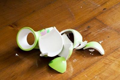 Who Pays When Stuff Breaks, Broken Vase