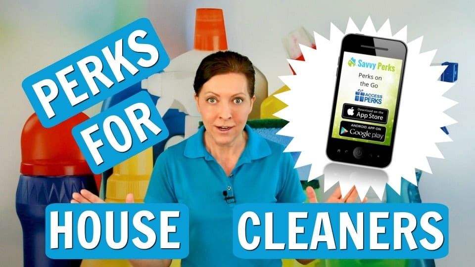 Ask a House Cleaner, Savvy Perks Employee Discount Network, Savvy Cleaner