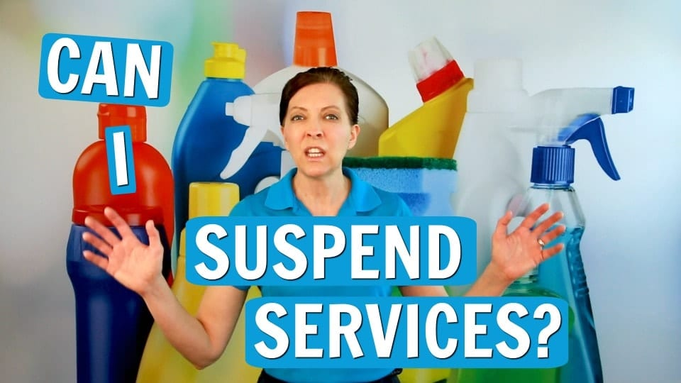 Ask A Housecleaner, Suspend House Cleaning Service, Savvy Cleaner