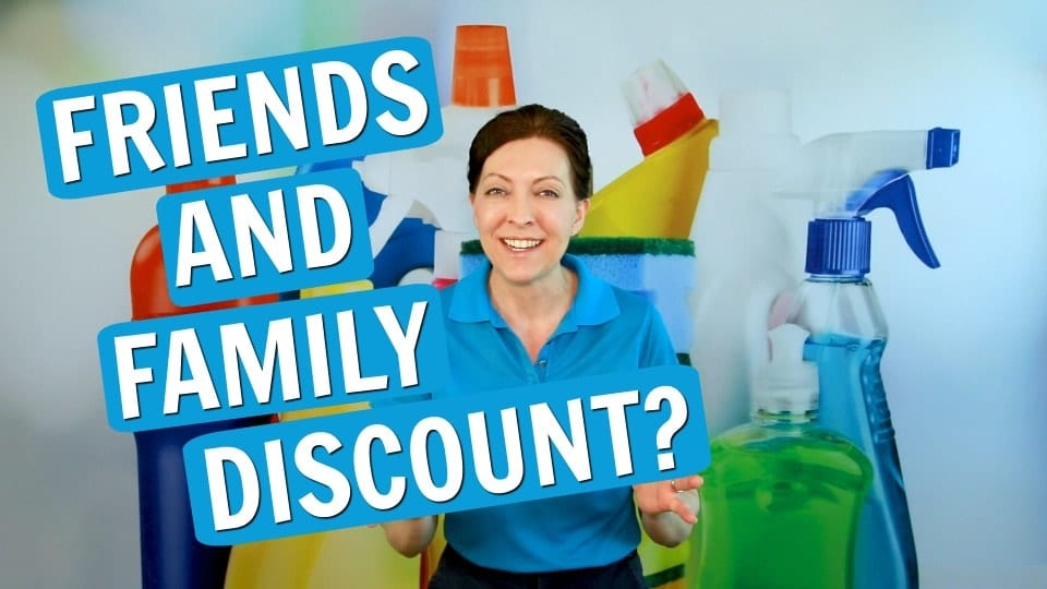 Ask a House Cleaner, Friends and Family Discount, Savvy Cleaner